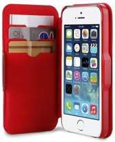 Apple iPhone SE / 5S / 5 Hoes – Zwart/Rood