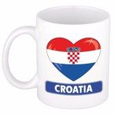 Hartje Kroatie mok / beker 300 ml