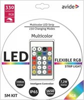 Led strip Multicolor 5M + Afstb