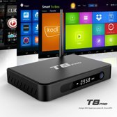 T8PRO Android TV BOX Mediaspeler Quad Core 2GB 8GB Netflix Kodi Addons 100000+ gratis films Games Dreambox Nederlandse en Buitenlandse zenders Smart tv