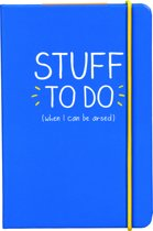 A6 Notebooks- Stuff To Do