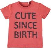 Name it t-shirt jongens - rood - NBMGamikkel - maat 74
