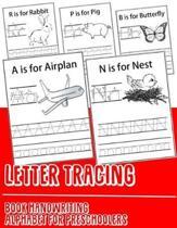 Letter Tracing Book Handwriting Alphabet for Preschoolers
