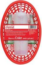 Coca-Cola Tafel top Set Peper En Zout, Mayo en Hamburger Mandjes
