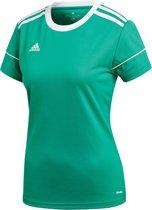 adidas Sportshirt performance - Maat L  - Vrouwen - groen/wit