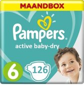 Pampers Active Baby Dry maat 6 - 126st