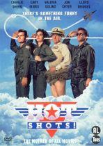 DVD cover van HOT SHOTS