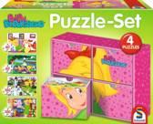 Schmidt puzzel Bibi 2x60 en 2x100 stukjes