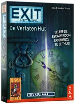 EXIT De Verlaten Hut - Escape Room - Bordspel