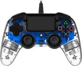 Officiele Compacte Bedrade PS4 LED Controller - PS4 - Blauw
