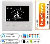 OPTIMA W inbouw slimme thermostaat Wi-Fi voor elektrische- en conventionele verwarmingsinstallaties