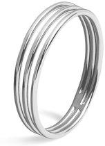 FAEMD Lines Ring - Zilver 6