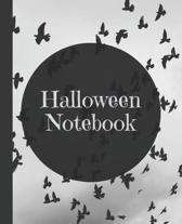 Halloween Notebook: Composition Notebook College Ruled Blank Lined Journal, subject for adults, teens, students, kids, teachers, school, h