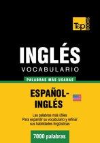 Vocabulario Español-Inglés americano - 7000 palabras más usadas
