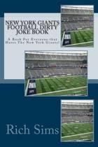 New York Giants Football Dirty Joke Book