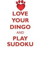 Love Your Dingo and Play Sudoku Dingo Sudoku Level 1 of 15