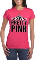 Circus Pretty Pink shirt roze voor dames XL