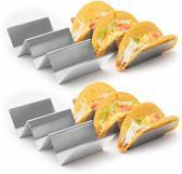 2x3 Taco & Tortilla Houder RVS TacoHouder & TortillaHouder, Geschikt Voor De Oven En Magnetron Horeca