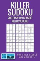 Killer Sudoku: 200 Easy 9x9 Classic Killer Sudoku
