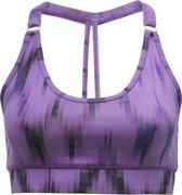 "Yoga-beha ""Siwa"" Ikat purple L BH accessoire YOGISTAR"