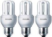 Philips Spaarlamp Genie 8W E27 - 3 stuks