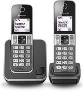 Panasonic KX-TGD312NLG - Duo DECT telefoon - Grijs