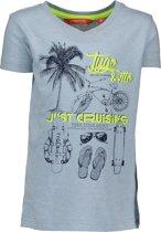 TYGO & vito Jongens T-shirt - aqua - Maat 92