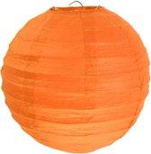 Santex Oranje lampion L - 2 stuks