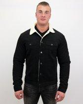 Palablu Spijkerjas Heren - Trucker Jack - Zwart - Maat: XL