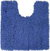 Differnz Chenille Shaggy - Wc mat - 60x60 - BLauw