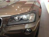 Motordrome Koplampspoilers BMW X3 F25 2010- (ABS)