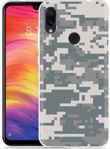 Xiaomi Redmi Note 7 Hoesje Army Digi Camouflage