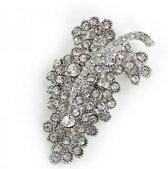 Broche met Kristal - 7.5 cm - Musthaves