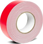 Duct tape Rood - 50mm x 50m - per rol