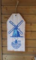 Wandbord Nederland 60 cm