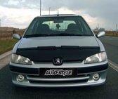 AutoStyle Motorkapsteenslaghoes Peugeot 106 1996-2003 zwart