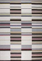 Effen - tapijt of vloerkleed - Bodhi bruin -wol - 230x160cm