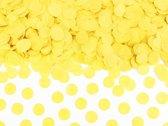 Gele Confetti 1,6cm 15 gram