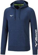 Mizuno Terry Hoodie blauw hoodie heren (32EC7B60-14)