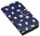 Movizy wallet standcase iPhone 6 - olifant