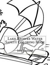 Lake Keowee Water Safety Coloring Book