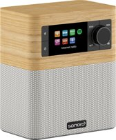 Sonoro STREAM - Wit - FM/DAB+ radio - internet radio - WiFi - aptX BlueTooth