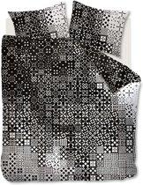 Beddinghouse Tippy - Dekbedovertrek - Eenpersoons - 140x200/220 cm - Zwart