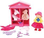 Bigjigs Toys dř.hr.-Šatník panenky Daisy,BJ763