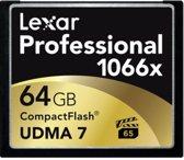 Lexar CF Card Thin Box 64GB 1000x Professional UDMA7
