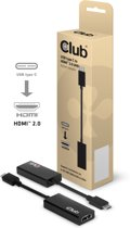 CLUB3D USB 3.1 Type C to HDMI 2.0 UHD Active Adapter