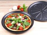 2 Stuks Pizza Bakblik 28cm voor in de oven