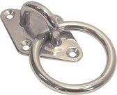 Ring met ruitvorm voetplaat