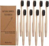 Bamboe tandenborstel (zacht) | 4 stuks |Natural Bamboo | Gratis verzending | Bamboo tandenborstel | 100% BPA-vrij | natuurlijk afbreekbaar