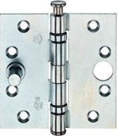 Kogellagerscharnier 89x89 mm gegalvaniseerd recht skg - 1 st